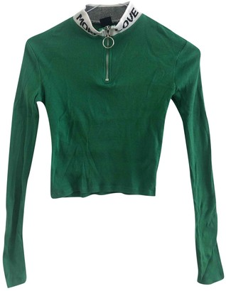 Urban Outfitters Green Cotton Top for Women