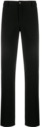 Pt01 Elasticated-Waist Straight-Leg Trousers