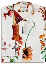 Paul Smith Rainbow Tree Slim Fit Dress Shirt - 100% Exclusive