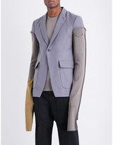 Rick Owens Single-breasted Ramie Jacket