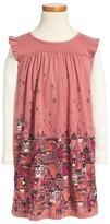 Tea Collection Girl's Edinburgh Mighty - Double Decker Dress