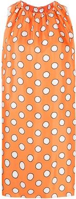 Moschino Polka Dot Shift Dress