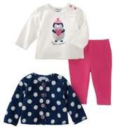 Absorba Girls' 3pc Jacket Set.