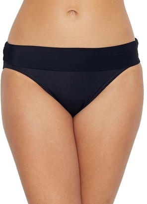 Miraclesuit Solid Fold-Over Bikini Bottom