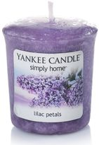 Yankee Candle simply home Lilac Petals Votive Candle
