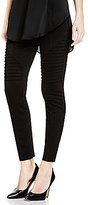 Vince Camuto Two By Ponte Moto Legging with Inserts