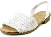 Karen Scott Jonnah Open-toe Canvas Slingback Sandal.