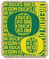 Oregon Ducks Jacquard Throw Blanket by Northwest