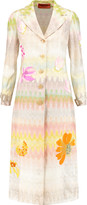 Missoni Embellished crochet-knit coat