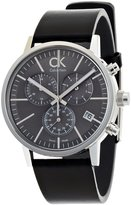Calvin Klein Men's Post Minimal K7627107 Leather Quartz Watch with Dial