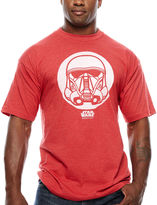 Star Wars STARWARS Short Sleeve Crew Neck T-Shirt-Big and Tall