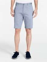 Calvin Klein Slim Fit Square Grid Shorts