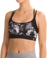 Nicole Miller Digital Rose Print Sports Bra - Medium Impact (For Women)