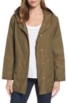 Eileen Fisher Women's Hooded Organic Cotton Blend Jacket