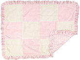 CoCalo Pink Faux Fur Patchwork Blanket