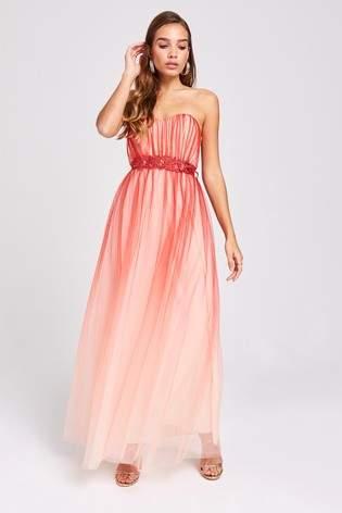 91f7da9cf117 Little Mistress Bandeau Dress - ShopStyle UK