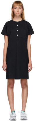A.P.C. Black Charlie Dress