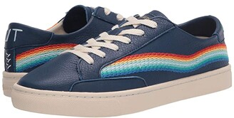 Soludos Rainbow Wave Sneaker (Marine Blue) Women's Shoes