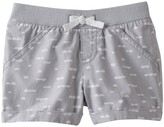 Jumping Beans Toddler Girl Jumping Beans® Ribbed Waist Woven Patterned Shorts
