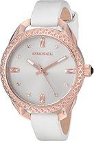 Diesel Women's DZ5546 Shawty Leather Watch