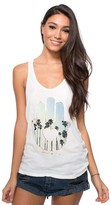 Spiritual Gangster Palm Tree Hamsa Racerback Tank Top