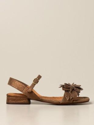 Chie Mihara Tadul Sandal In Lurex Suede