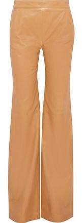 Derek Lam Leather Wide-Leg Pants