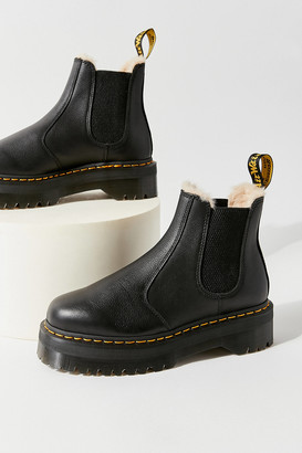 Dr. Martens 2976 Quad Faux Fur-Lined Chelsea Boot