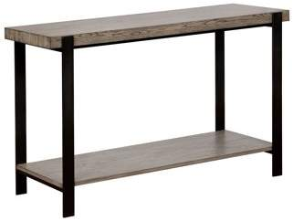 Furniture Of America Furniture of America Budsing Two-Tone Open Shelf Sofa Table