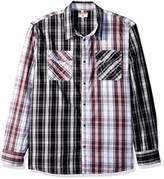 True Religion Men's LS Utility Woven Shirt