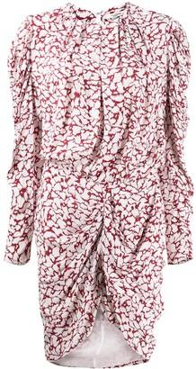 Etoile Isabel Marant Floral Print Draped Dress