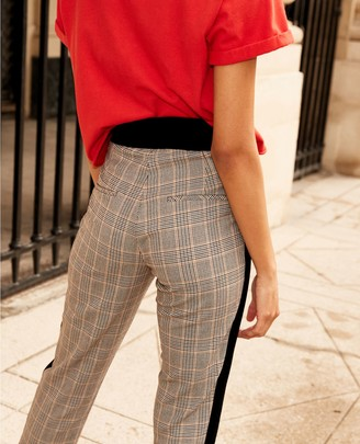 The Kooples Vintage black polyester trousers