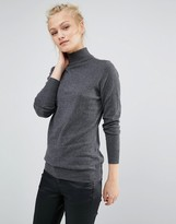 Warehouse Roll Neck Top