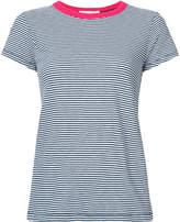 Rag & Bone contrast neck striped T-shirt