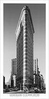 1art1® Posters: Henri Silberman Poster Art Print - Flatiron Building (39 x 20 inches)