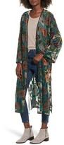 Band of Gypsies Women's Velvet Burnout Kimono