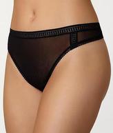 OnGossamer Gossamer Mesh Hi-Cut Thong Panty - Women's