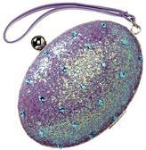 Gap Glitter-embellished wristlet