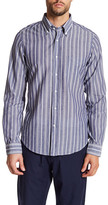 Gant Bleecker Stripe Long Sleeve Shirt