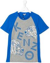 Kenzo logo print T-shirt - kids - Cotton - 16 yrs