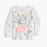 J.Crew Girls' Olive celebration T-shirt