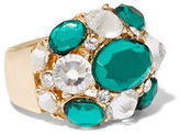 New York & Co. Faux-Emerald Cocktail Ring