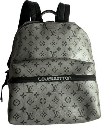 Louis Vuitton Apollo Backpack Silver Cloth Bags