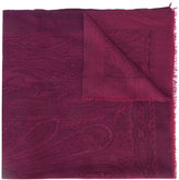 Etro patterned scarf - women - Silk/Cashmere/Llama - One Size