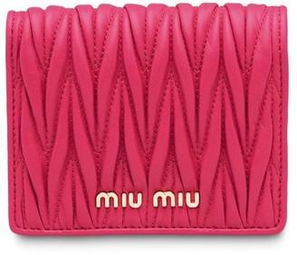 Miu Miu Matelassé wallet