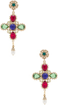 Dolce & Gabbana Cross Earrings