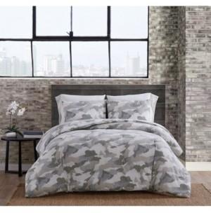 Sean John Garment Washed Camo Full/Queen Comforter Set Bedding