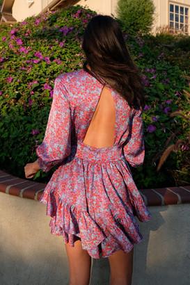 For Love & Lemons Shiloh Ruffle Mini Dress