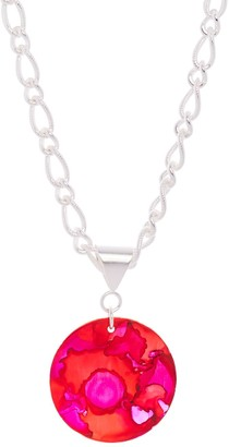 Odell Design Studio Silver Bold Pendant Necklace Mars