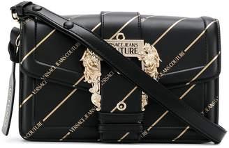 Versace decorative-buckle shoulder bag